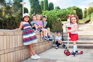 Modne wzory w dziecięcej garderobie